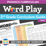 2nd Grade Word Play Phonics and Spelling Curriculum Guide