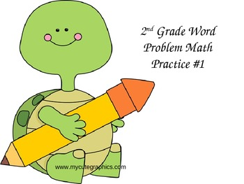 2nd Grade Word Problem Practice