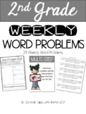 2nd Grade Word Problem Work