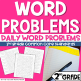 2nd Grade Word Problems | Addition | Subtraction | Place Value | Money