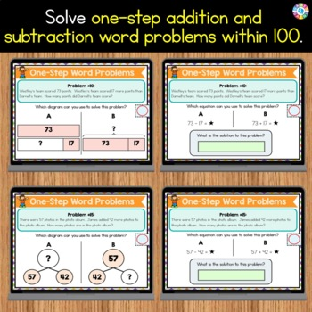 2nd Grade Word Problems Addition and Subtraction Google ...