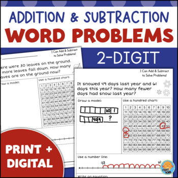 2nd Grade Word Problems - Addition and Subtraction within ...