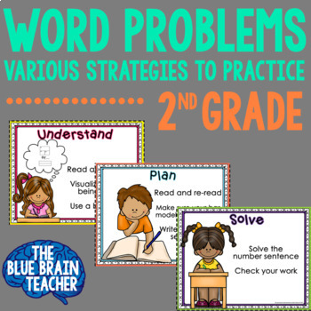 Word Problems for 2nd Grade - All CGI Types are Represented