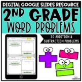 2nd Grade Word Problems Digital Version for Distance Learning