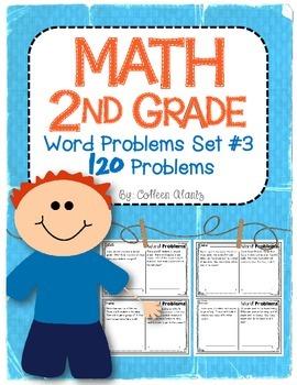 2nd Grade Word Problems Set #3