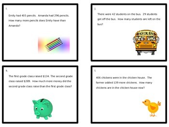 Word Problems - Solve the Room or Scoot