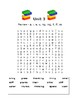 2nd Grade Word Search Units 1-3 ~ Aligns with Letterland Spelling Unit Words