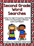 2nd Grade Word Searches with High Frequency Words-Journeys Common Core 2014 ed.