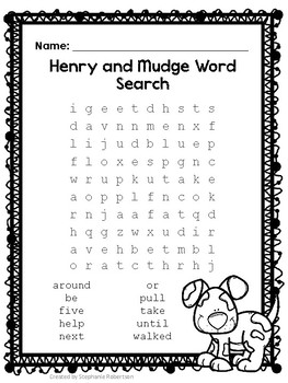 2nd Grade Word Searches with High Frequency Words-Journeys Common ...