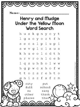 2nd Grade Word Searches with High Frequency Words from the Journeys 2011 series