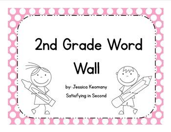 2nd Grade Word Wall & Activities