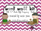 2nd Grade Word Wall Kit