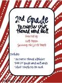 2nd Grade Word Wall - Patriotic/USA Theme