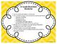 2nd Grade Word Wall Word Set Yellow