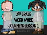 2nd Grade Word Work - Lesson 1 (Journeys) - short a/i