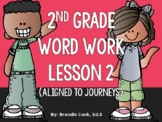 2nd Grade Word Work (aligned to Journeys) - Lesson 2 -short e, o, and u