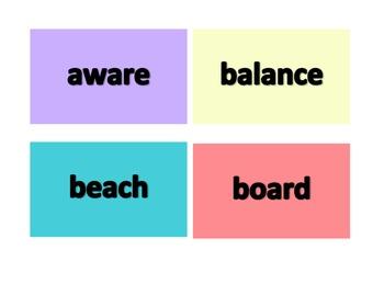 2nd Grade Word of the Week - Ocean Theme