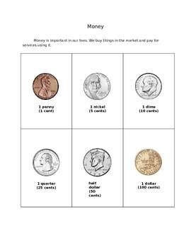 2nd Grade Workbook about Currency