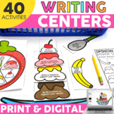 2nd Grade Writing Centers | Printable & Digital Included