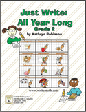 Second Grade Writing Curriculum - Daily Spelling, Grammar, Paragraph Development