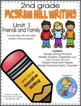 2nd Grade Writing McGraw Hill Wonders Unit 1