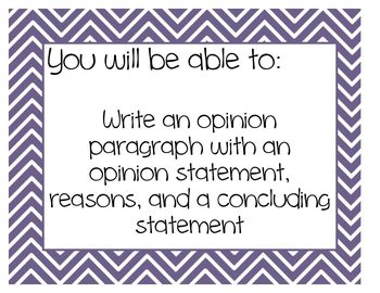 2nd Grade Common Core Writing Objective Posters