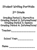 2nd Grade Writing Paper with Rubric