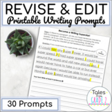 2nd Grade Writing Prompts for Editing and Revising Practice