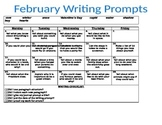 2nd Grade Writing Prompts for Each Day of the Month