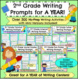 2nd Grade Writing Prompts for a Year