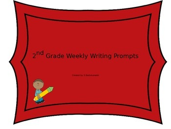 2nd Grade Writing Prompts for the year! (40 prompts total)