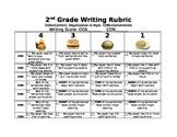 2nd Grade Writing Rubric