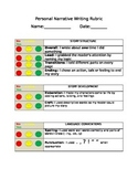 2nd Grade Writing Rubrics