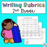 2nd Grade Writing Rubrics: Narrative, Opinion, and Informative
