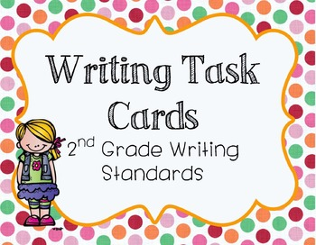 2nd Grade Writing Task Cards