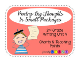 2nd Grade Writing Poetry Charts & Teaching Points