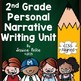 2nd Grade Writing Workshop BUNDLE - Writing Plans for the ENTIRE Year!