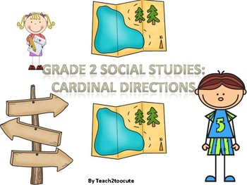 2nd Grade Writing in Social Studies: Cardinal and Intermediate Directions