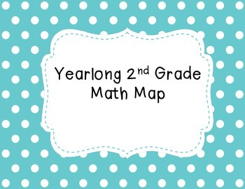 2nd Grade Yearlong Math Map