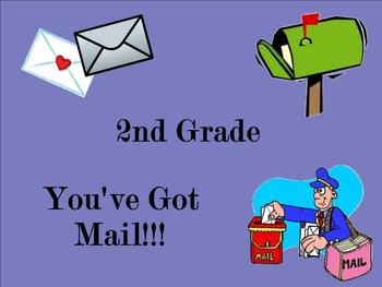 2nd Grade: You've Got Mail! (Reading d, r, m, s, l)