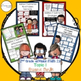 2nd Grade enVision Math 2.0 Topic 1 Resource Bundle