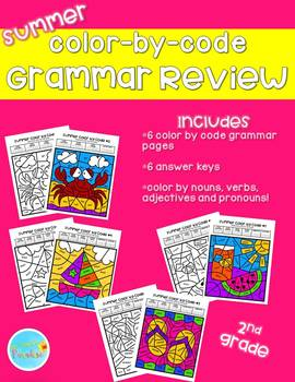 2nd Grade end of The Year Grammar Review