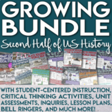 2nd Half of U.S. History Curriculum for Middle School GROW