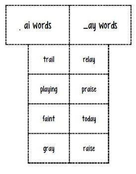 2nd Imagine It Decodable 19 and Word Sort