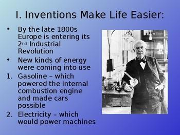 2nd Industrial Revolution