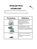 2nd Industrial Revolution Vocabulary Sheet