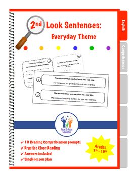 2nd Look Sentences