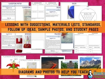 2nd Grade NGSS Interactive Science Notebook