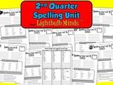 2nd Quarter Spelling Unit from Lightbulb Minds