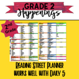 2nd Grade Reading Street Planner